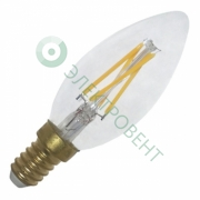 FOTON LIGHTING FL-LED Filament C35 6W E27 3000К 220V 600Лм 35*98мм - светодиодная