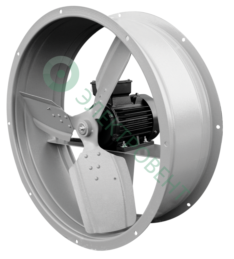 Осевой вентилятор ВО 06-300-10 3 кВт 950 об/мин