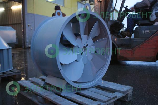 Фотография осевого вентилятора ВО 13-284